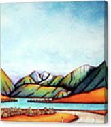 Lake Pearson 1999 Si Nz Canvas Print