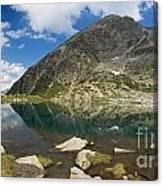 Lake Piccolo - Val Di Sole Canvas Print