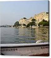 Lake Pichola Canvas Print