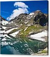 lake Pietra Rossa - Italy Canvas Print