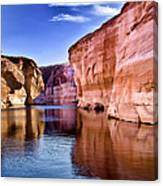 Lake Powell Antelope Canyon Canvas Print