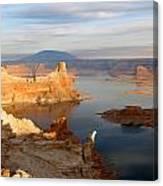 Lake Powell From Alstrum Pt 12 Canvas Print