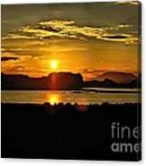 Lake Powell Sunrise Canvas Print