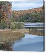 Lake Reflection Canvas Print