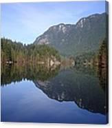 Buntzen Lake, Bc Reflections Canvas Print