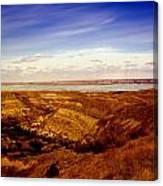 Lake Sakakawea North Dakota Canvas Print
