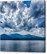 Lake Santeetlah In Great Smoky Mountains Nc Canvas Print