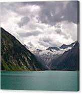 Lake Schlegeis Canvas Print