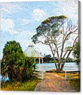 Lake Series 01 Canvas Print