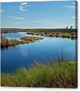 Lake Shelby Daytime  Canvas Print