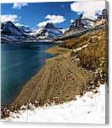 Lake Sherburne Canvas Print