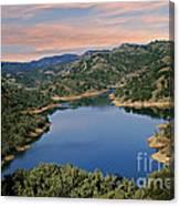 Lake Sonoma - California Canvas Print