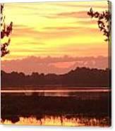 Lake Spivey Morning Canvas Print