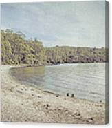 Lake St. Clair In Tasmania Canvas Print