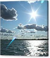 Lake St. Clair Sunset Canvas Print