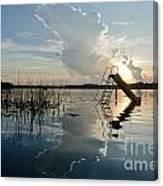 Lake Sunset 5 Canvas Print