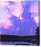 Lake Sunset II Canvas Print