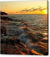 Lake Superior Dawn Canvas Print
