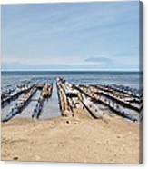 Lake Superior Shipwreck Canvas Print