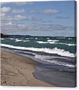 Lake Superior Shoreline Canvas Print