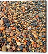 Lake Superior Stones 1 Canvas Print