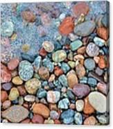 Lake Superior Stones 3 Canvas Print