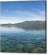 Lake Tahoe Calm Canvas Print