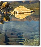 Lake Tahoe Clarity Canvas Print