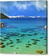Lake Tahoe Cove Canvas Print