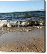 Lake Tahoe From South Beach Canvas Print