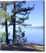 Lake Tahoe In The Morning Canvas Print