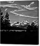 Lake Tahoe Just After Sunset Canvas Print