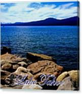 Lake Tahoe Magic Canvas Print