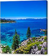 Lake Tahoe Summerscape Canvas Print