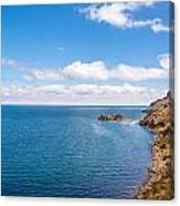 Lake Titicaca Coastline  Canvas Print