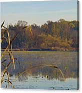 Lake Towhee In Autumn Canvas Print