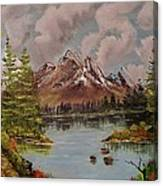 Lake Trek Canvas Print