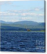 Lake Umbagog Choppy Waters Canvas Print