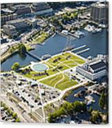 Lake Union Park And Museum Of History Canvas Print