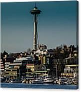 Lake Union Seattle Skyline Canvas Print
