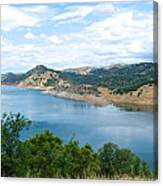 Lake View From Hwy 120 Rest Area Going Into Yosemite Np-ca- 2013 Canvas Print