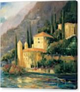 Lake Villa Canvas Print