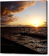 Lake Waconia Sunset Canvas Print