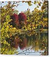 Lake Winona Autumn 15 Canvas Print