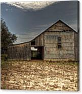 Lake Worth Barn Canvas Print