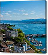 Lake Zurich Canvas Print