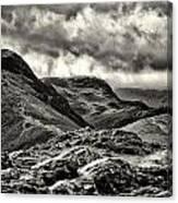 Lakeland Storm 01 Canvas Print