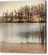 Lakes Edge Canvas Print