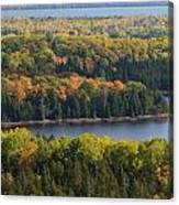 Lakes Of The Woods Canvas Print