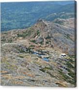 Lakes Of The Clouds - Mount Washington New Hampshire Usa Canvas Print